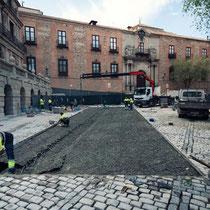 Intervención en Plaza del Ayuntamiento_Durante las obras