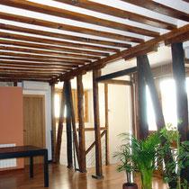 Conservación de estructura de madera_Después de la intervención