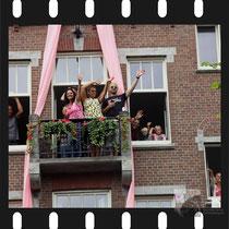 329 Amsterdam Canal Pride 2019 v.a de NH Radio Pride boot 26