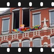 195 Amsterdam Canal Pride 2019 v.a de NH Radio Pride boot 26