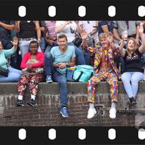 257 Amsterdam Canal Pride 2019 v.a de NH Radio Pride boot 26