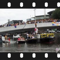 345 Amsterdam Canal Pride 2019 v.a de NH Radio Pride boot 26