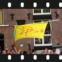302 Amsterdam Canal Pride 2019 v.a de NH Radio Pride boot 26