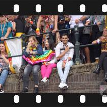 310 Amsterdam Canal Pride 2019 v.a de NH Radio Pride boot 26