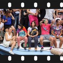 278 Amsterdam Canal Pride 2019 v.a de NH Radio Pride boot 26