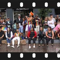 216 Amsterdam Canal Pride 2019 v.a de NH Radio Pride boot 26