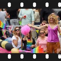 245 Amsterdam Canal Pride 2019 v.a de NH Radio Pride boot 26