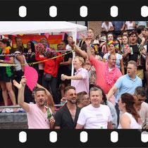 212 Amsterdam Canal Pride 2019 v.a de NH Radio Pride boot 26