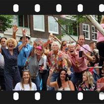 332 Amsterdam Canal Pride 2019 v.a de NH Radio Pride boot 26