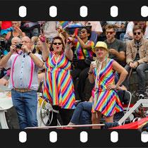 335 Amsterdam Canal Pride 2019 v.a de NH Radio Pride boot 26