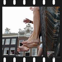 287 Amsterdam Canal Pride 2019 v.a de NH Radio Pride boot 26