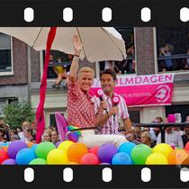 118 Amsterdam Canal Pride 2019 v.a de NH Radio Pride boot 26