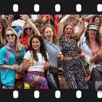 193 Amsterdam Canal Pride 2019 v.a de NH Radio Pride boot 26