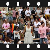 095 Amsterdam Canal Pride 2019 v.a de NH Radio Pride boot 26