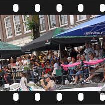 292 Amsterdam Canal Pride 2019 v.a de NH Radio Pride boot 26