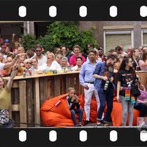 240 Amsterdam Canal Pride 2019 v.a de NH Radio Pride boot 26
