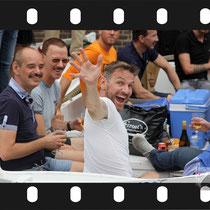 231 Amsterdam Canal Pride 2019 v.a de NH Radio Pride boot 26