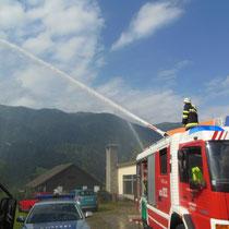 Wasserwerfer der FF-Reisach