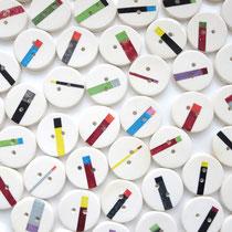1周年記念のボタン/hifumi