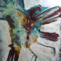 ästhetik des morbiden I, 2013, 100 x 120 cm, mischtechnik auf LW, privatbesitz