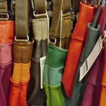 Handtaschen aus Leder