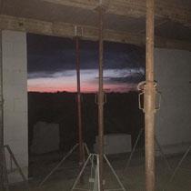 Sonnenuntergang im Ferienhaus MeerZeit