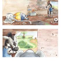 Prentenboek 'Poepoe & Nounou'