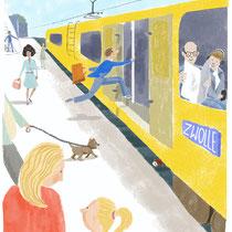 Herziene Illustratie, opdrachtgever ThiemeMeulenhoff, taalonderwijs gr. 5