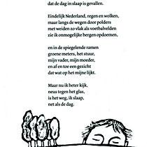 'Terugreis', gedicht van Ted van Lieshout uitgeverij Querido