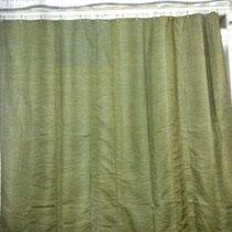 Утепленная брезентовая штора на ворота ангара