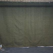 Брезентовые шторы (завесы) с люверсами для гаража