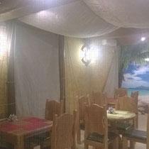 Брезентовые шторы для декора помещений кафе/баров/ресторанов/кальянных