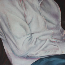 Das Hemd (2019, Acryl auf Leinwand, 50x50 cm)