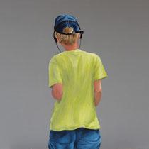 Unser Früchtchen (2012, Acryl auf Leinwand, 70x100 cm)
