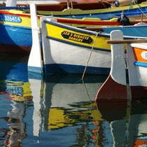 Pointus dans le port de Sanary sur Mer