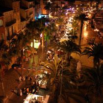 Marché nocturne Sanary sur Mer