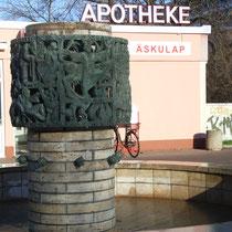 """Äskulap-Brunnen"", Am Treff"