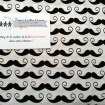 Moustaches noir & blanc