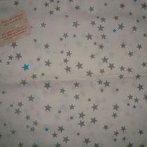 Petites étoiles grises et bleues