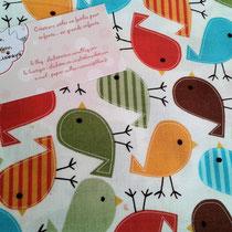 oiseaux multicolores