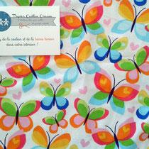 Papillon multicolores