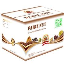 pariz nuts caja de cartón
