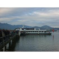 Schiff-Shuttle KKL/Verkehrshaus © laufende Nase