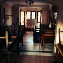 Der Study-Room, der auch zum Essen genutzt wird