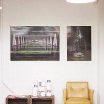 Exposition pour Déplié - Pli #01 à l'atelier Méraki à Paris