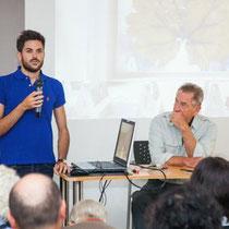 Conférence avec Gilles Clément