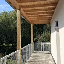 Habitat participatif Ensems Laü, Pau - Architecte D. Palacios. Photo © Le COL