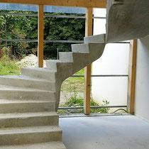 Habitat Participatif - Le COL - DOMAN - Billère - Escalier