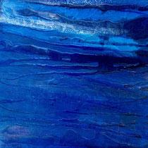 blu oltremare 1, cm. 50x70x4