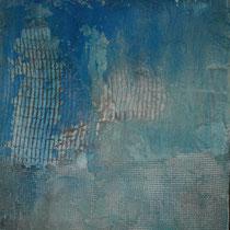 continenti, cm.100x50 cemento e pigmenti su pannello legno.Collezione Yacht San Lorenzo